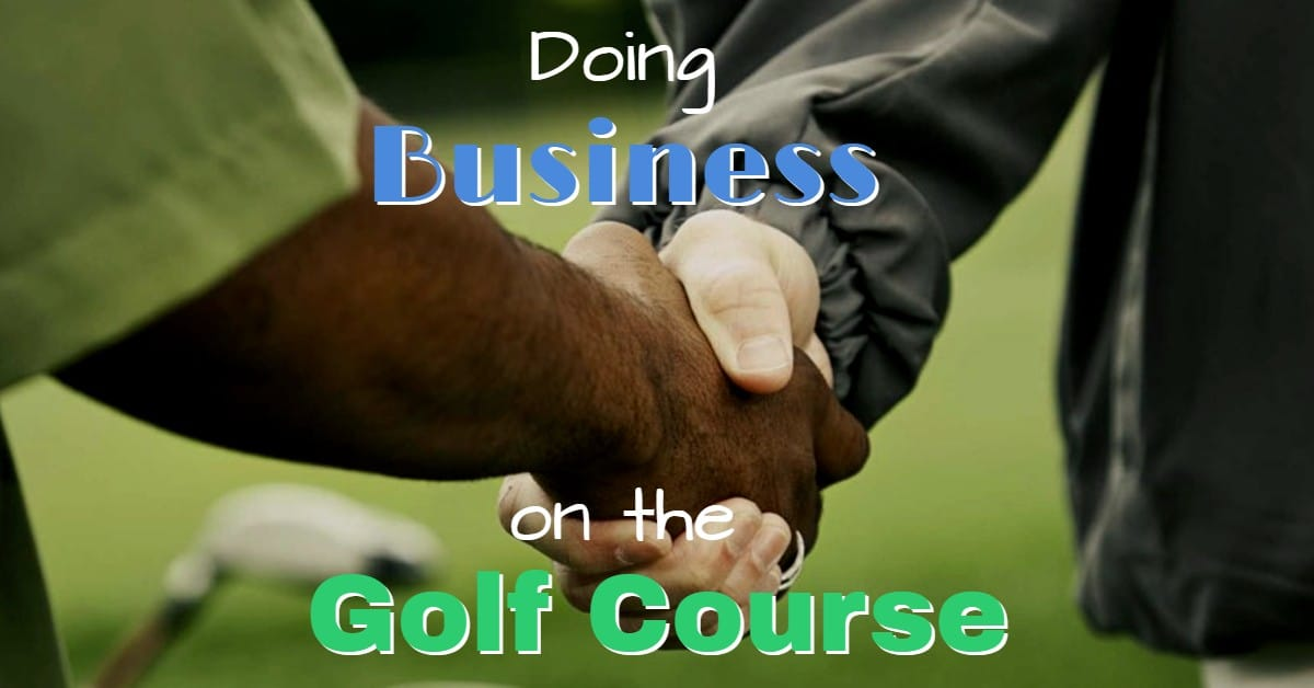 Golf Course Business Meetings